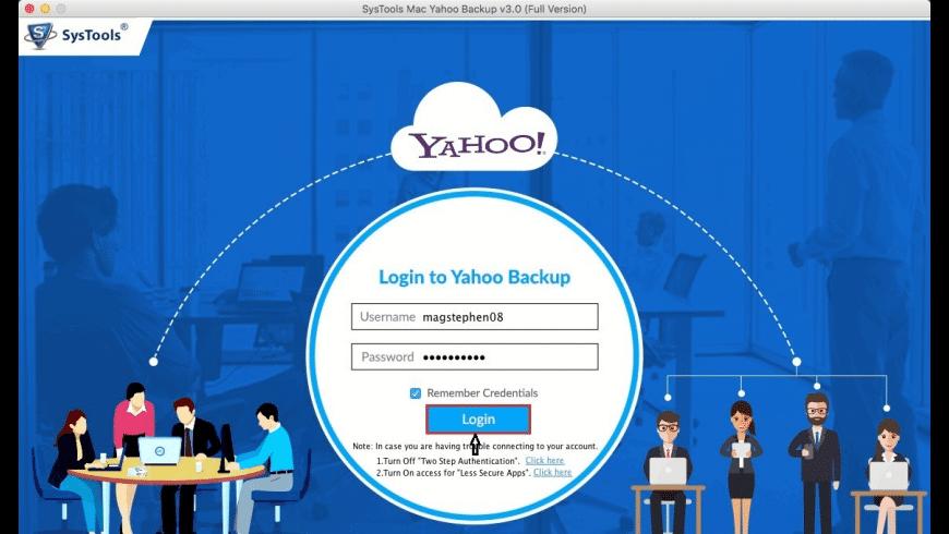 SysTools Yahoo Backup for Mac - review, screenshots