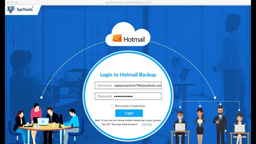 SysTools Hotmail Backup for Mac - review, screenshots