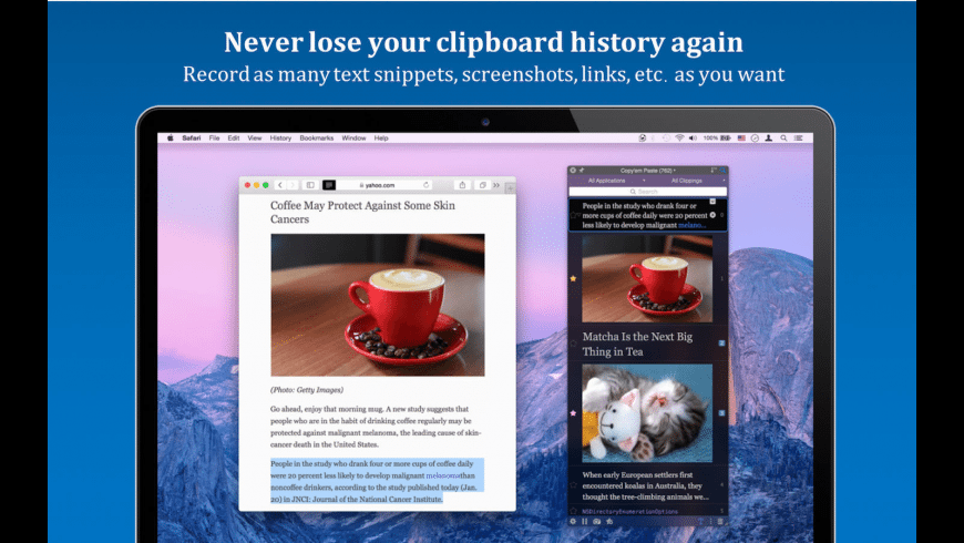 Copyem Paste for Mac - review, screenshots