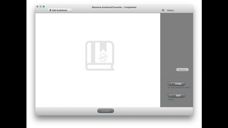 AudioBook Converter for Mac - review, screenshots