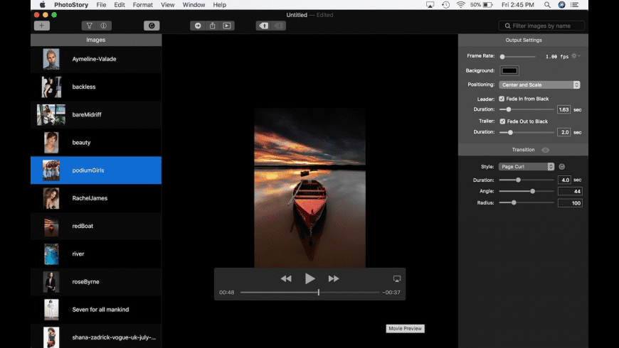PhotoStory for Mac - review, screenshots