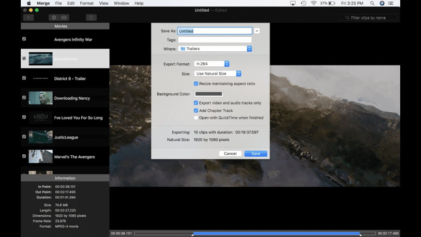 Merge SX for Mac - review, screenshots