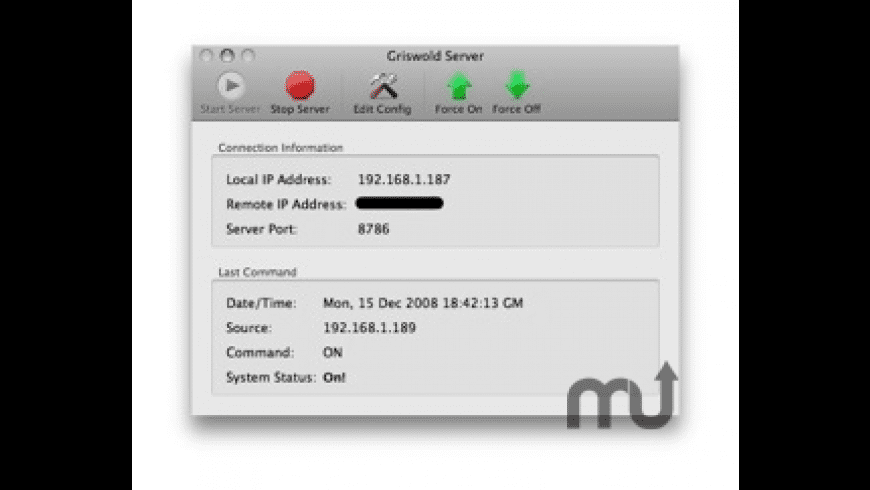 Griswold Server for Mac - review, screenshots