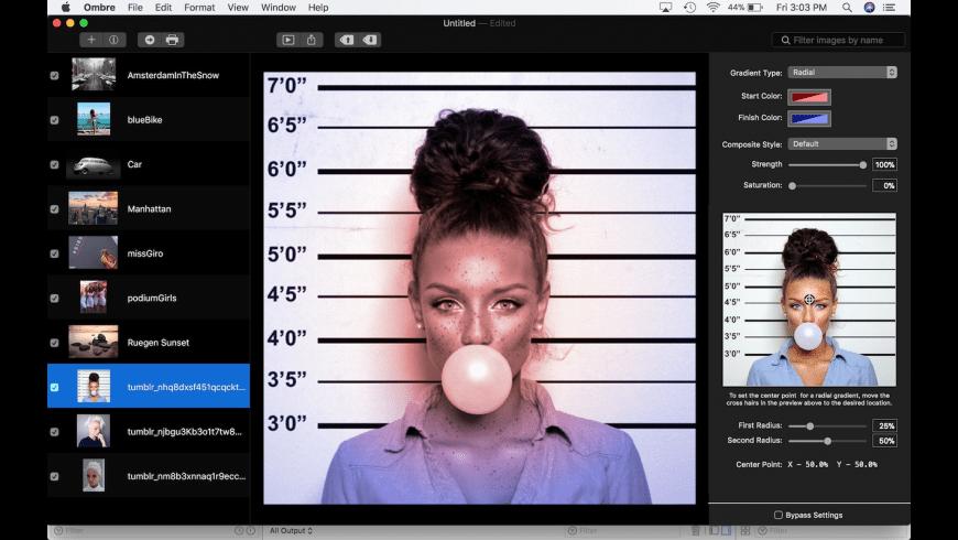 Ombre SX for Mac - review, screenshots