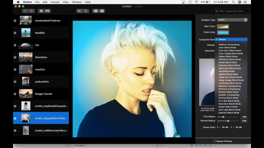 Ombre SX for Mac - review, screenshots
