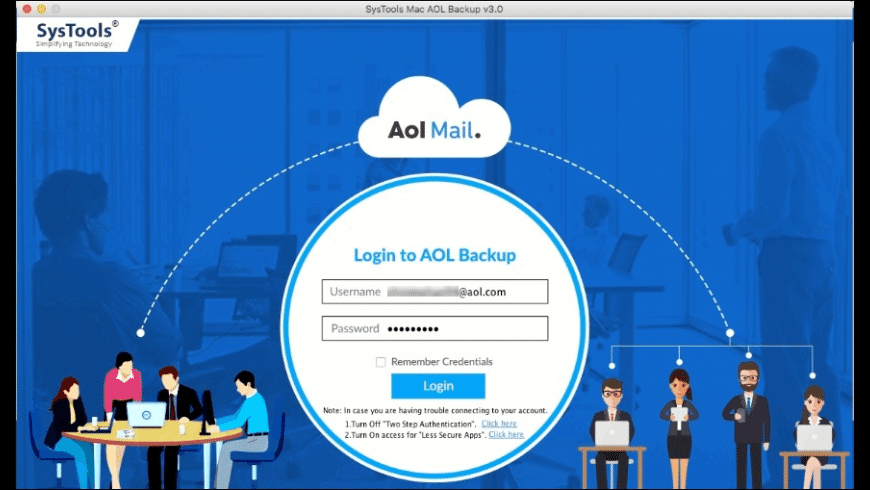 SysTools AOL Backup for Mac - review, screenshots