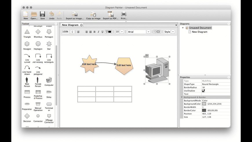 DiagramPainter for Mac - review, screenshots
