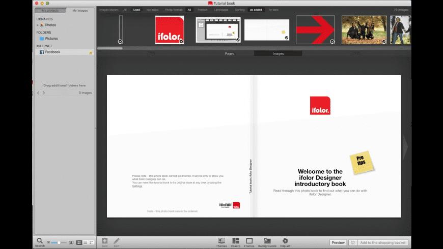 Ifolor Designer for Mac - review, screenshots