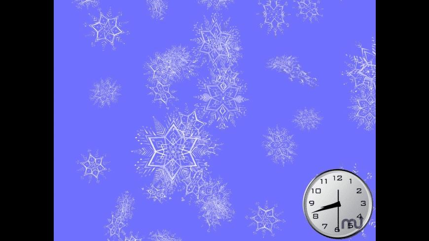 Shining Snowflakes 3D Screensaver for Mac - review, screenshots