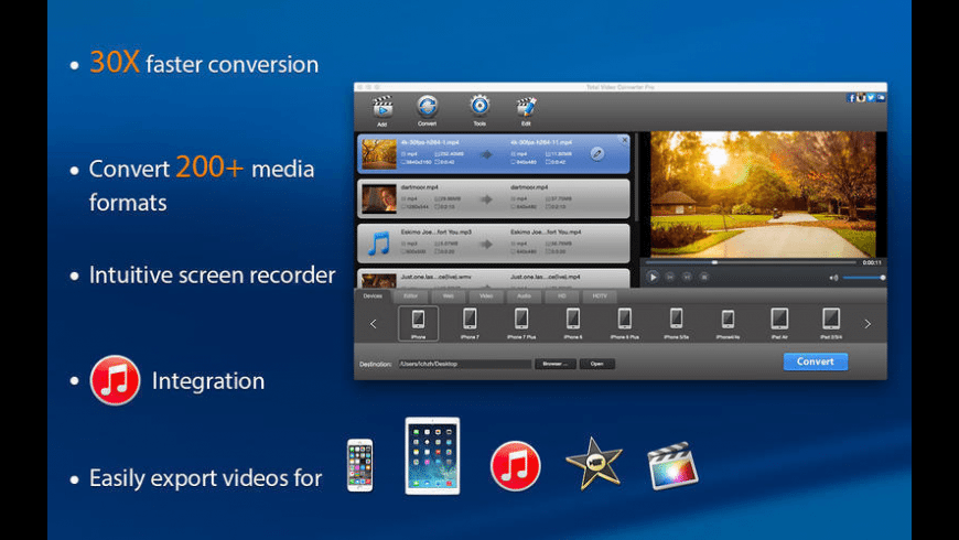 Total Video Converter Pro for Mac - review, screenshots