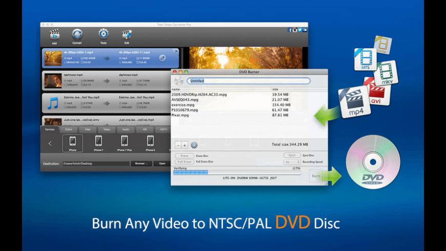 Total Video Converter Pro for Mac - review, screenshots