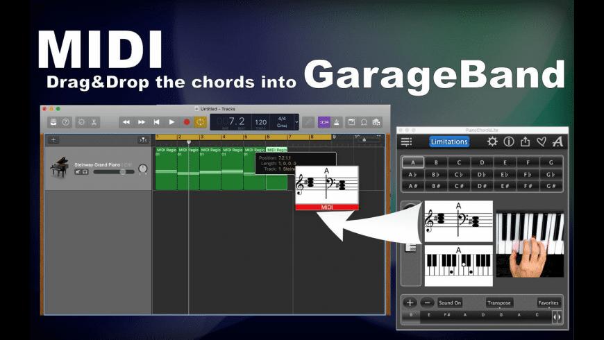 Piano Chords Lite for Mac - review, screenshots
