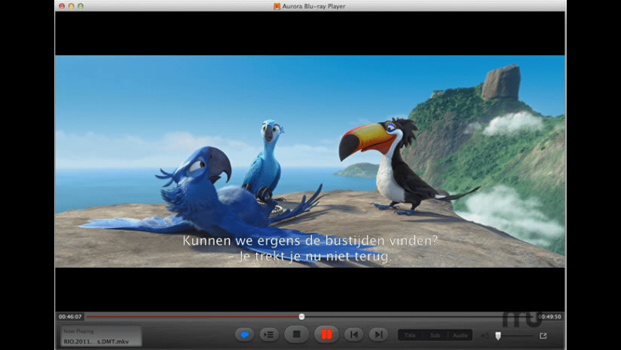 Aurora Blu-ray Player for Mac - review, screenshots