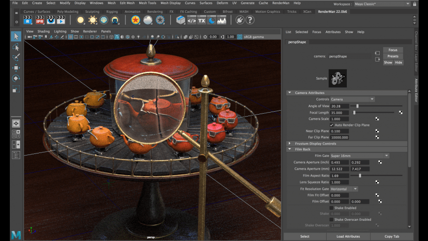 RenderMan for Mac - review, screenshots