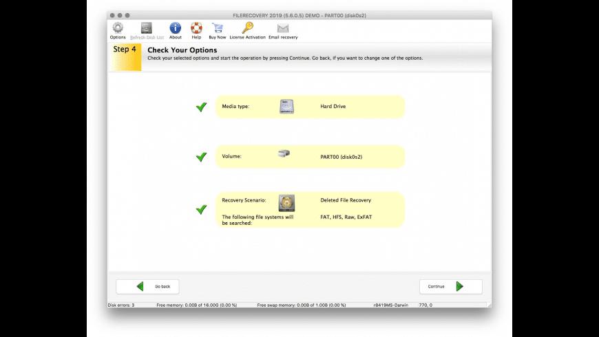 FILERECOVERY Enterprise for Mac - review, screenshots