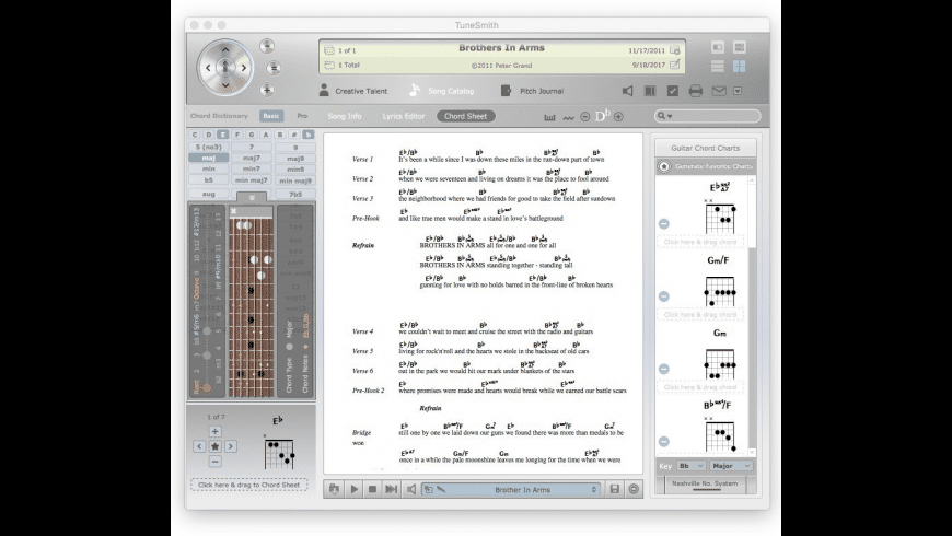 TuneSmith for Mac - review, screenshots