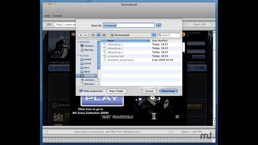 iAnimationX for Mac - review, screenshots