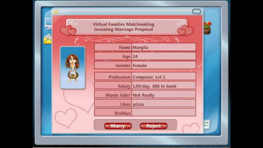 Virtual Families 2 for Mac - review, screenshots