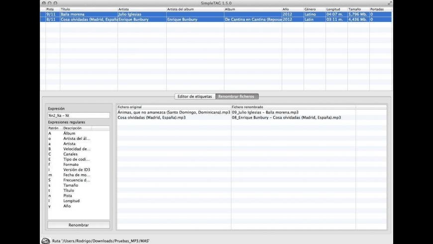 SimpleTAG for Mac - review, screenshots
