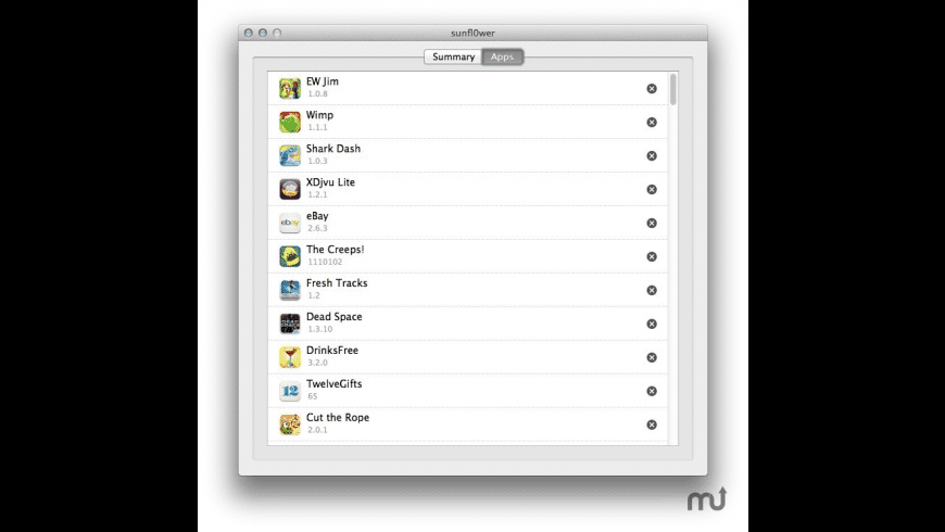 iGadget Manager for Mac - review, screenshots