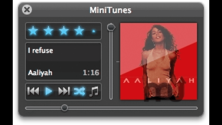 MiniTunes for Mac - review, screenshots