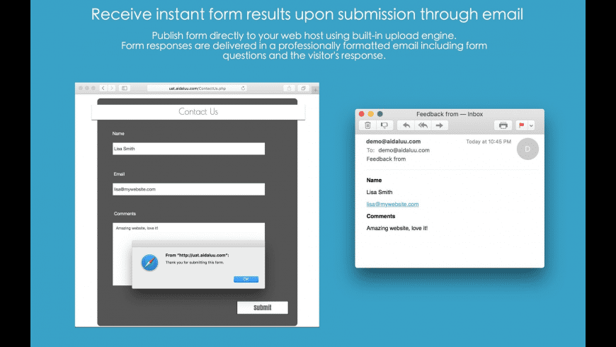 Touch Forms Pro for Mac - review, screenshots
