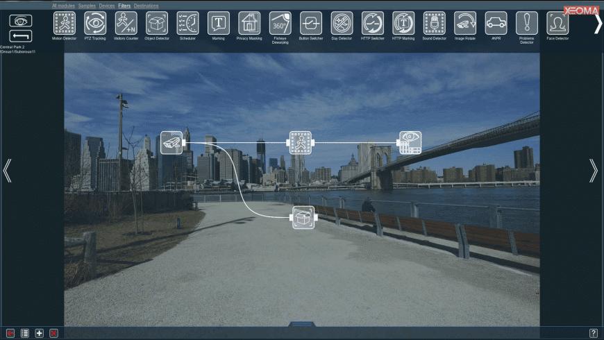 Xeoma for Mac - review, screenshots