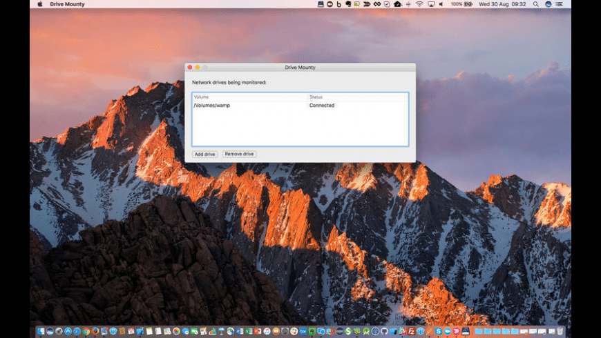 Drive Mounty for Mac - review, screenshots