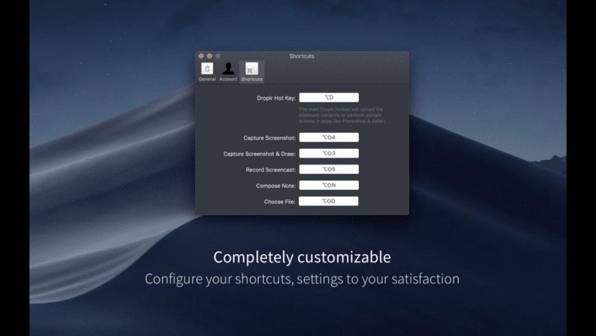 Droplr for Mac - review, screenshots