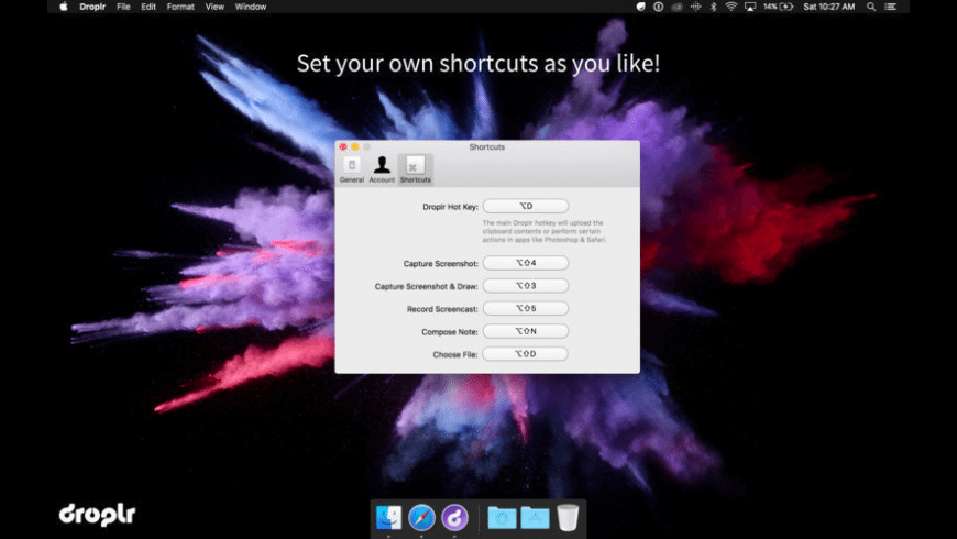 Droplr for Mac - review, screenshots