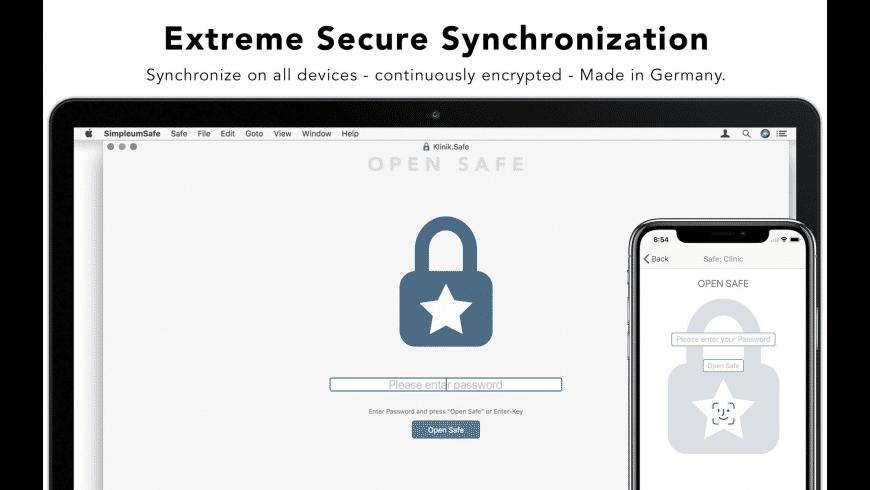 SimpleumSafe for Mac - review, screenshots