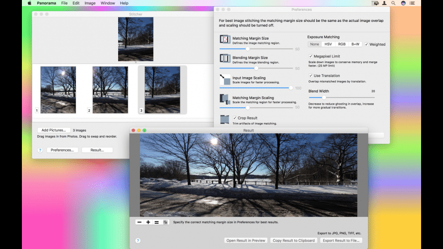 Panorama for Mac - review, screenshots