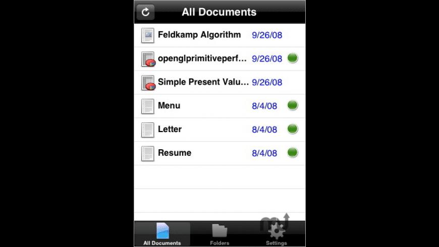 MiGhtyDocs for Mac - review, screenshots