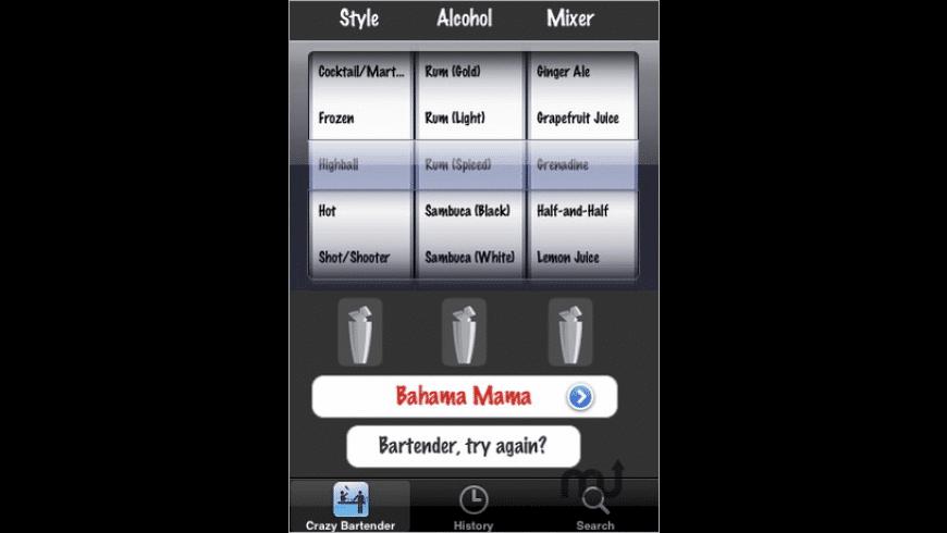 Crazy Bartender for Mac - review, screenshots