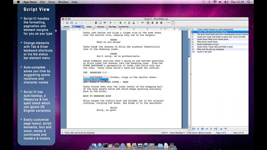 Script It! for Mac - review, screenshots