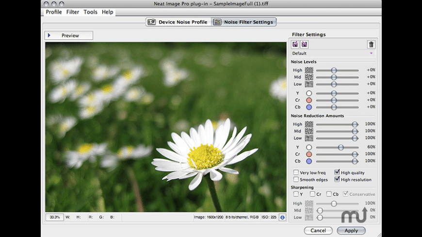 Neat Image for Aperture for Mac - review, screenshots