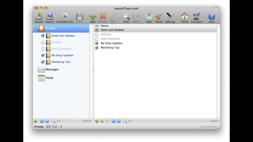 MacMassMailer for Mac - review, screenshots