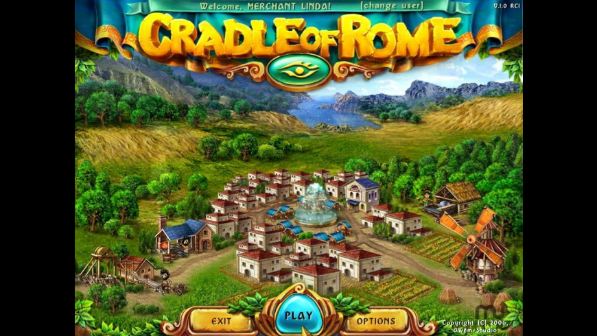 Cradle of Rome for Mac - review, screenshots