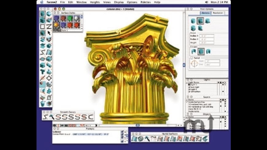 formZ for Mac - review, screenshots