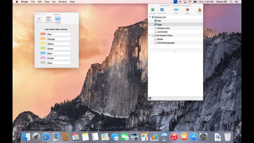 Check Off for Mac - review, screenshots