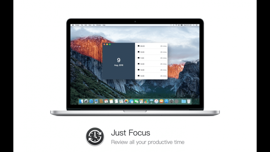 JustFocus for Mac - review, screenshots