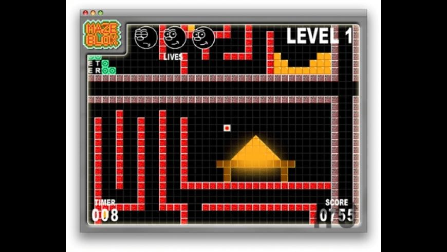 MazeBlox for Mac - review, screenshots
