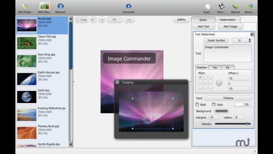 Image Commander for Mac - review, screenshots
