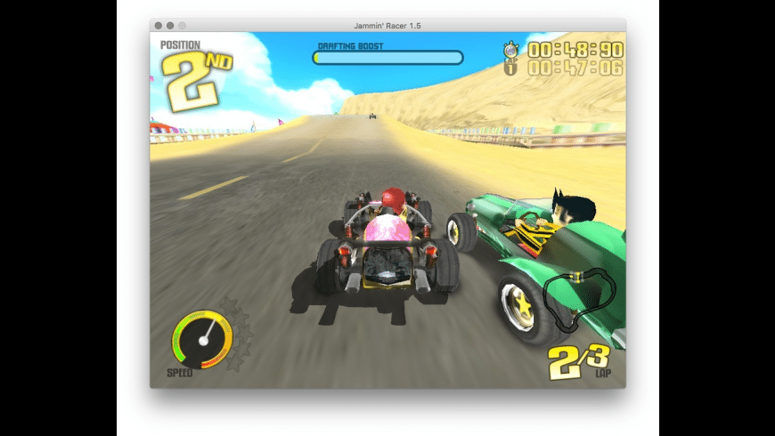 Jammin' Racer for Mac - review, screenshots