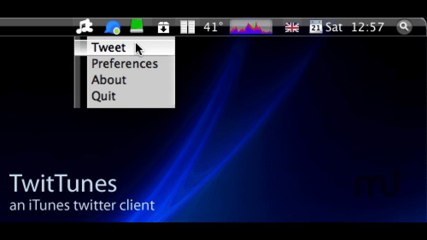 TwitTunes for Mac - review, screenshots