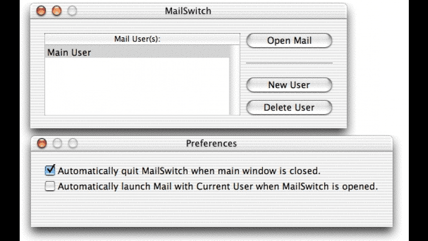 MailSwitch for Mac - review, screenshots