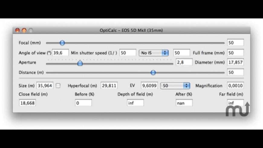 OptiCalc for Mac - review, screenshots