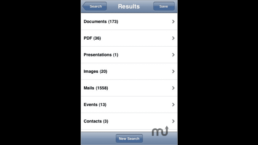 Searchlight for iPhone for Mac - review, screenshots