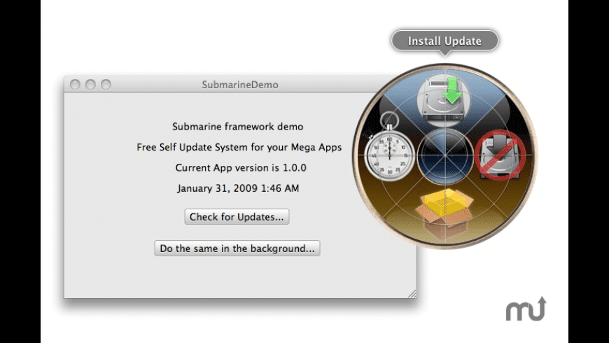 Submarine for Mac - review, screenshots