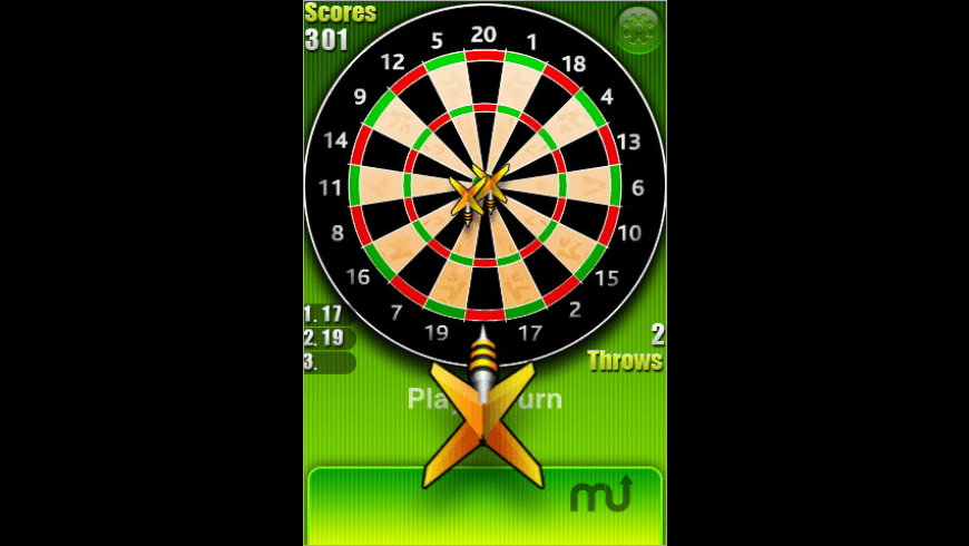 Deluxeware Darts for Mac - review, screenshots